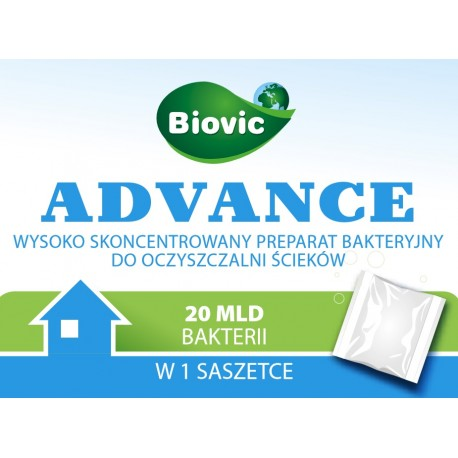 Advance - nowoczesny bioprepart do oczyszczalni ścieków